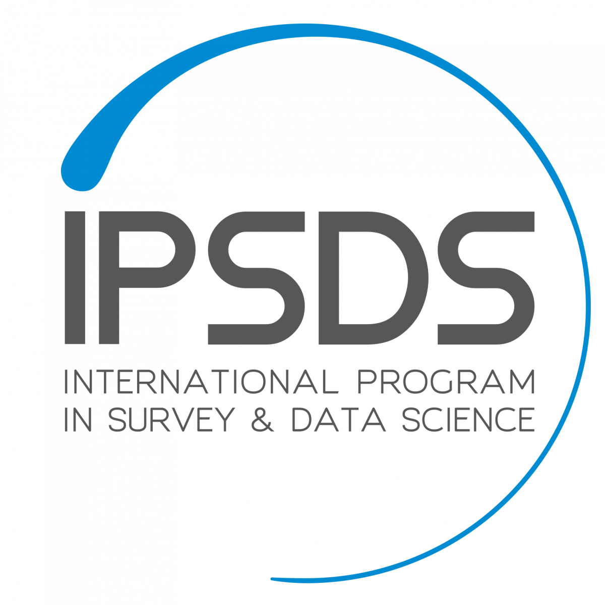 International Program in Survey and Data Science Logo