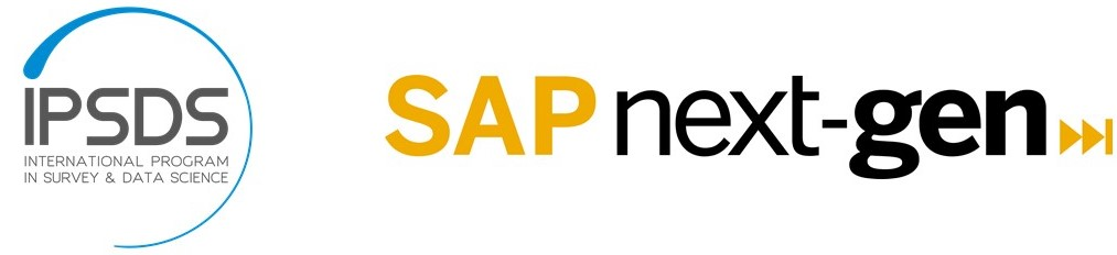 Logos International Program in Survey and Data Science & SAP Next-Gen (organizers of Women in Data Science Conference Mannheim 2020
